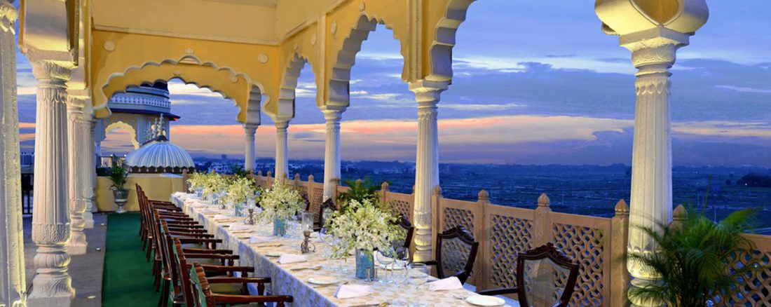 Fine dining restaurant near Delhi